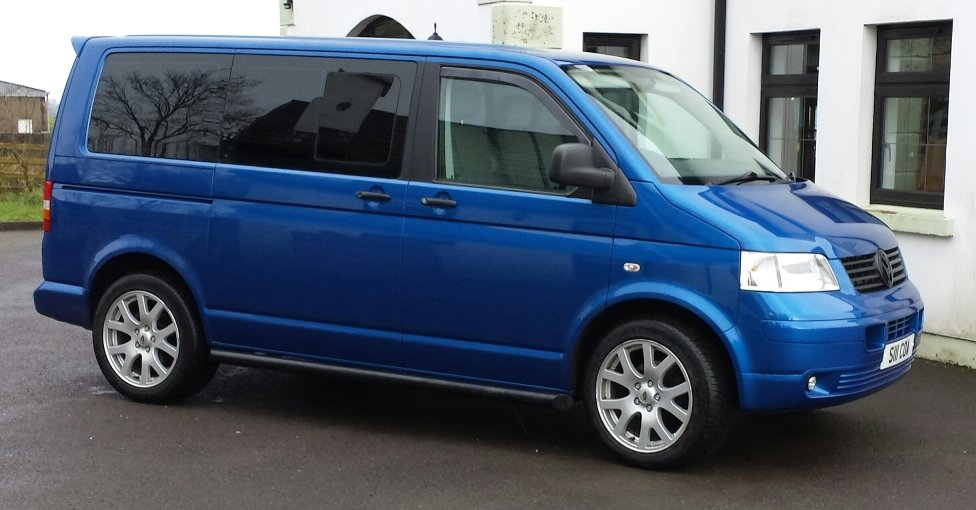 VW Transporter T5 Bolts Locks Spiggots to fit wheels from Discovery 3 and 4