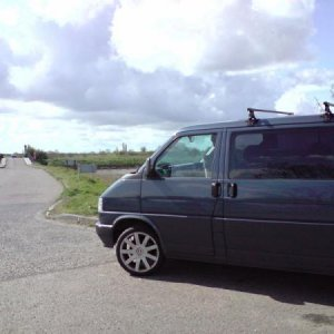 My Van over at 2 Tree Island, leigh-on-sea