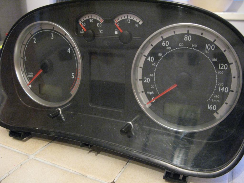 Vw T4 Lt Caravelle Instrument Cluster Clocks Speedo Led Upgrade