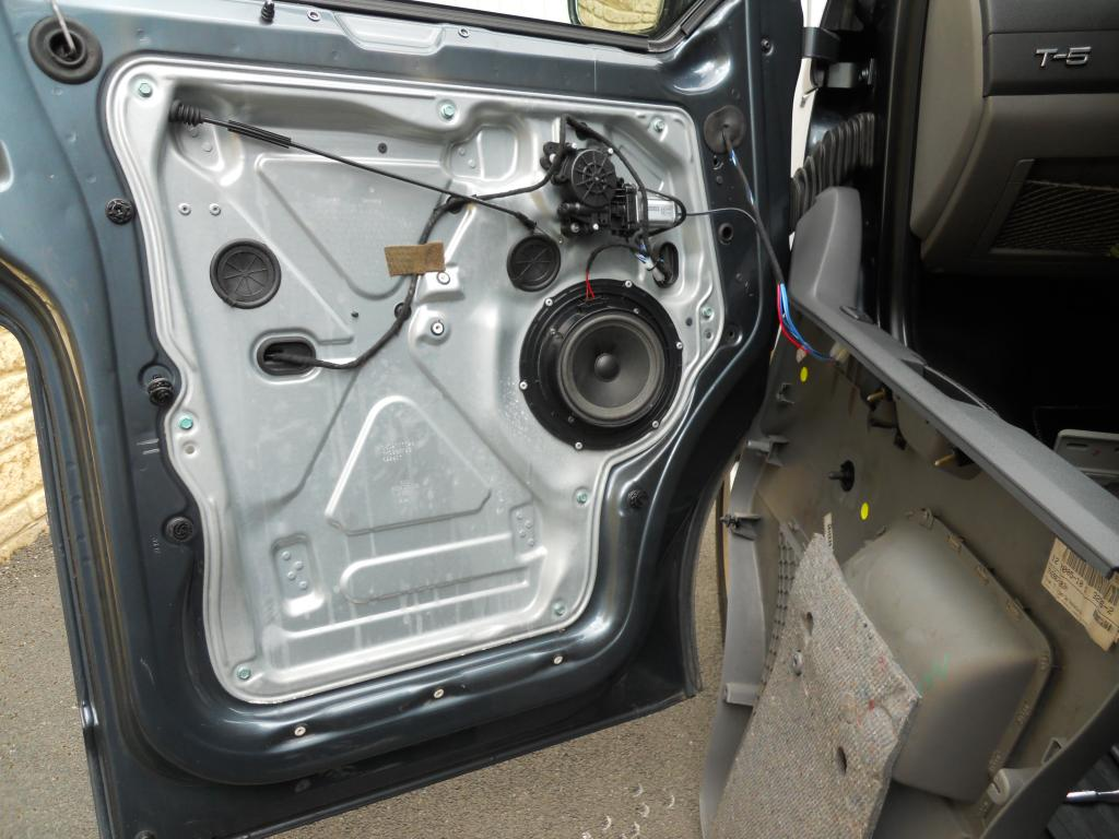 Front speaker replacement, with pics    - VW T4 Forum - VW