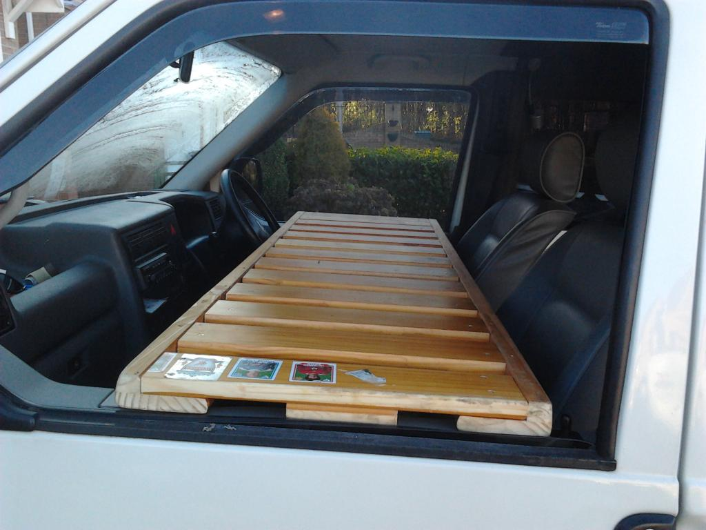 Cab Bunk Home Made Vw T4 Forum Vw T5 Forum