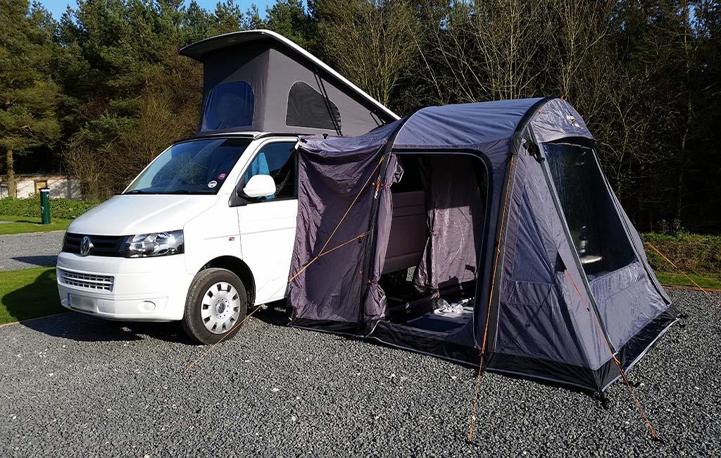 Vango Airbeam - Kela Standard Drive Away Awning - VW T4 ...