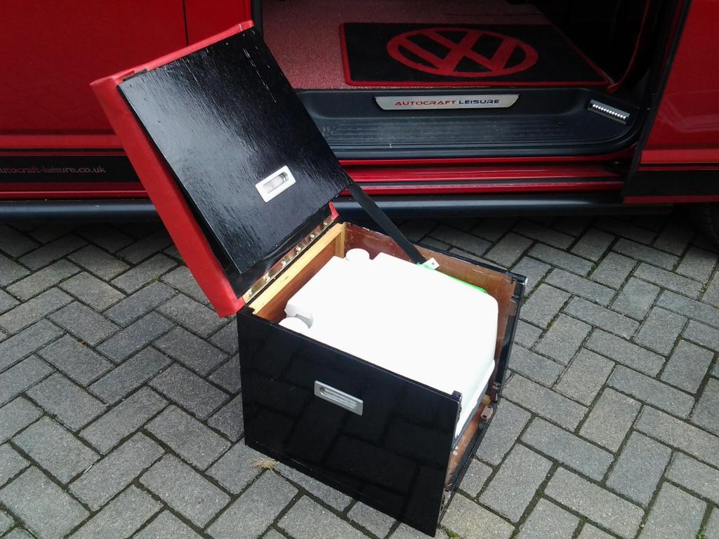 Porta Potti 335 Cube Ideas On Box To Store It Vw T4