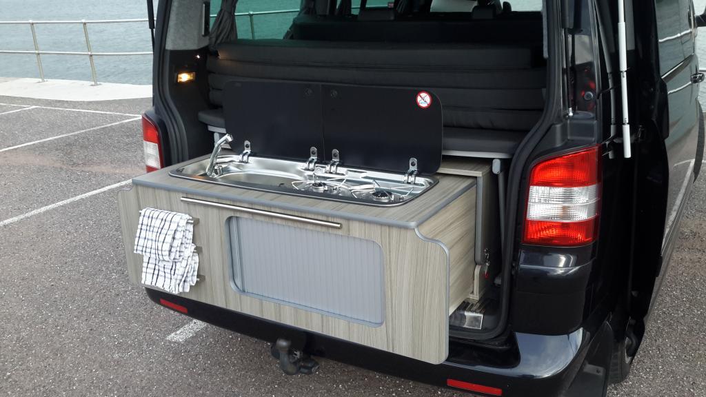 Removable Rear Slide Out Pod Vw T4 Forum Vw T5 Forum