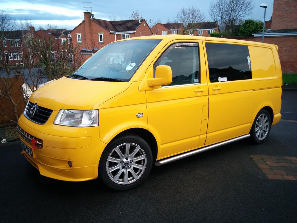 Another Yellow Ex AA Van - Page 10 - VW T4 Forum - VW T5 Forum