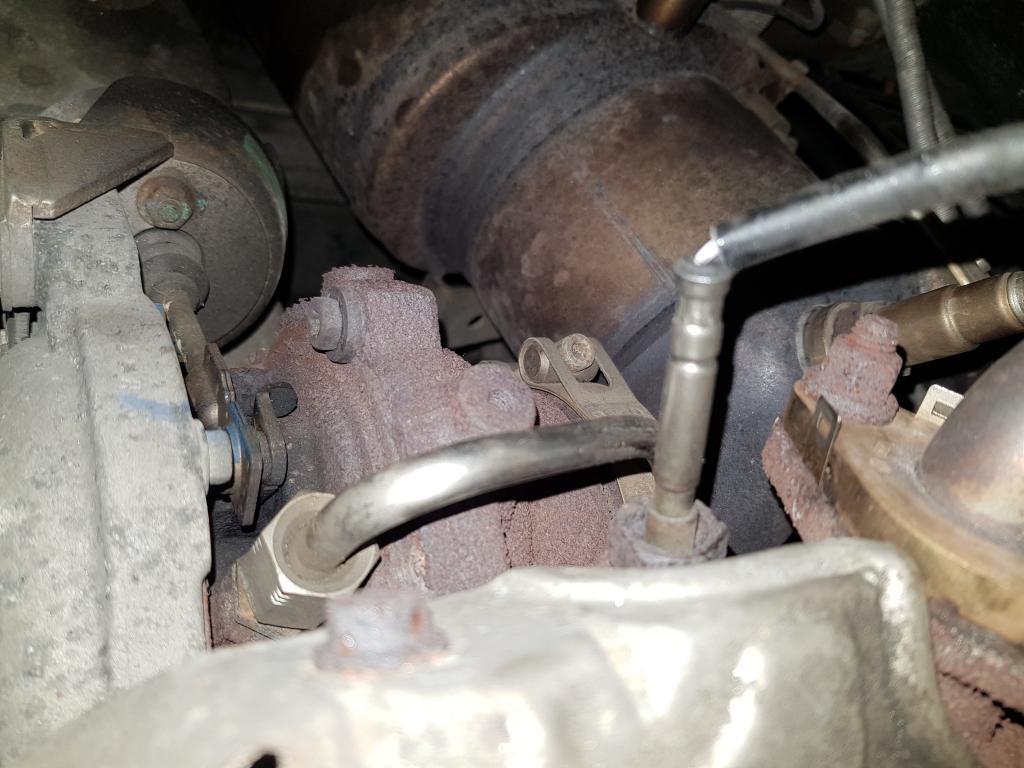 Exhaust Gas Temperature Sensor Bank 1 Sensor 1 Problems - VW T4