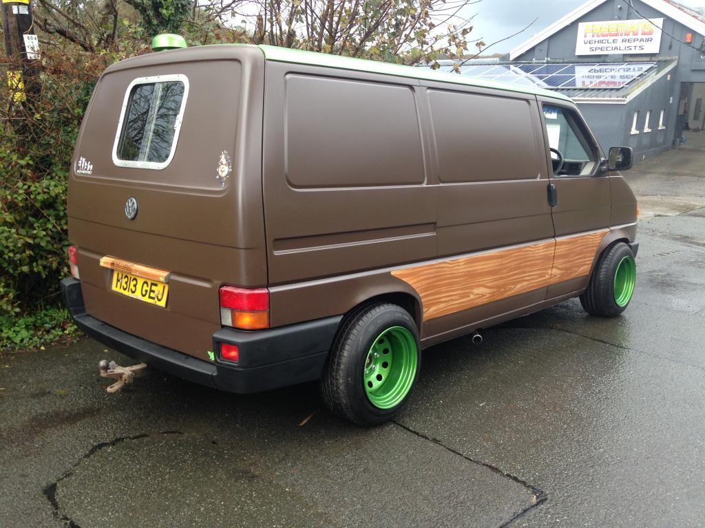 Spray Paint Van