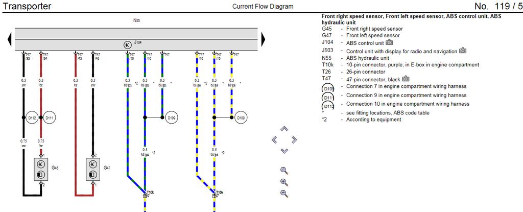 abs fault finding mission page 5 vw t4 forum vw t5. Black Bedroom Furniture Sets. Home Design Ideas