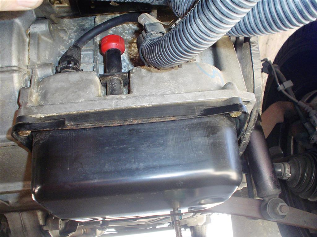 521888 Checked The Transmission Fluid Level Today moreover Car Series Checking And Adding Fluids likewise 105 ENGINE Oil Pan Gasket Replacement in addition Watch as well Showthread. on transmission fluid dipstick reading