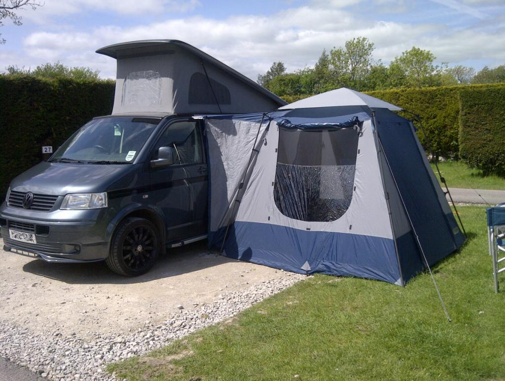 small drive away awning - VW T4 Forum - VW T5 Forum