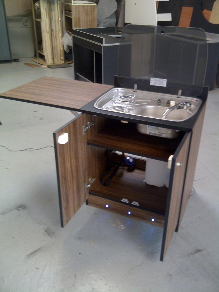 Small Compact Kitchen For Rv