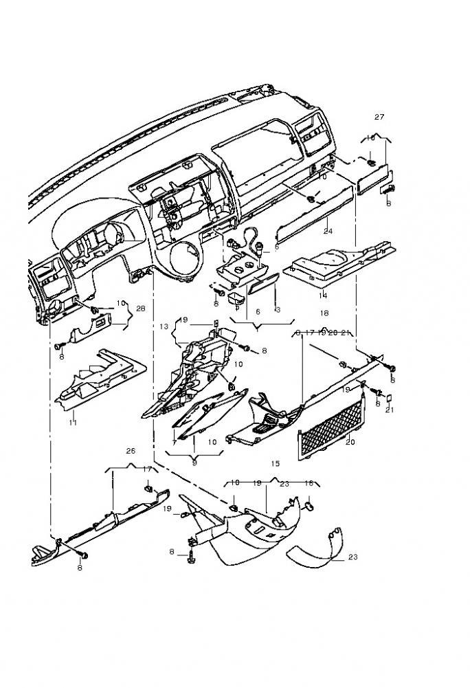 Vw T5 Parts Diagram