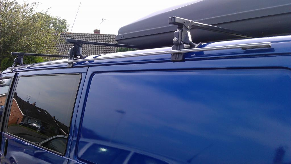 Just Drill And Bolt A Rail To Your Roof Bars Simples