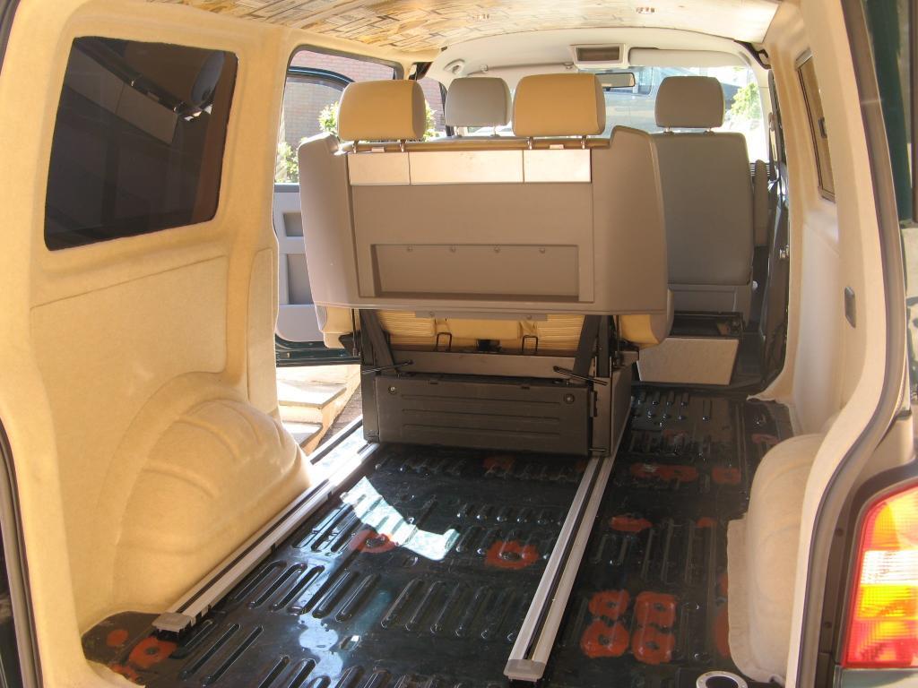 Car Folding Rear Seats