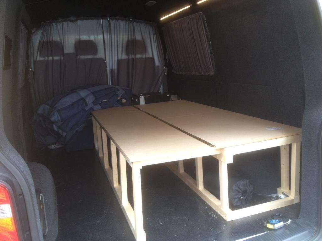 Self Made Wooden Seat Beds Pics Please Page 3 Vw T4