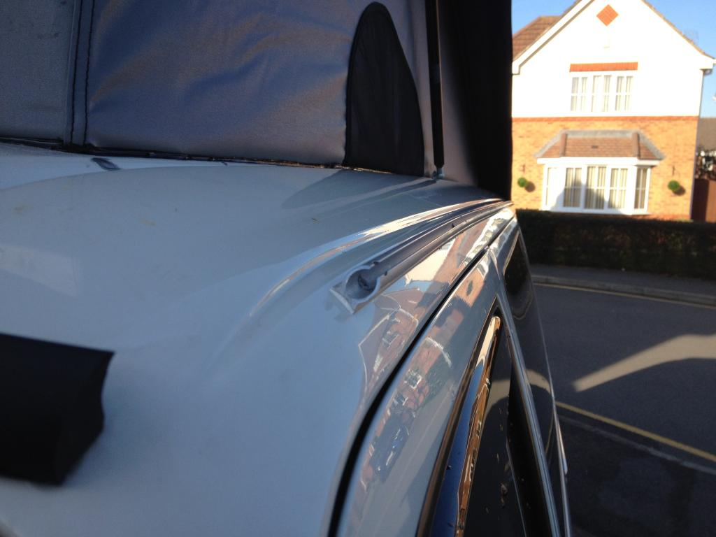 show me your gutter awning rails - VW T4 Forum - VW T5 Forum