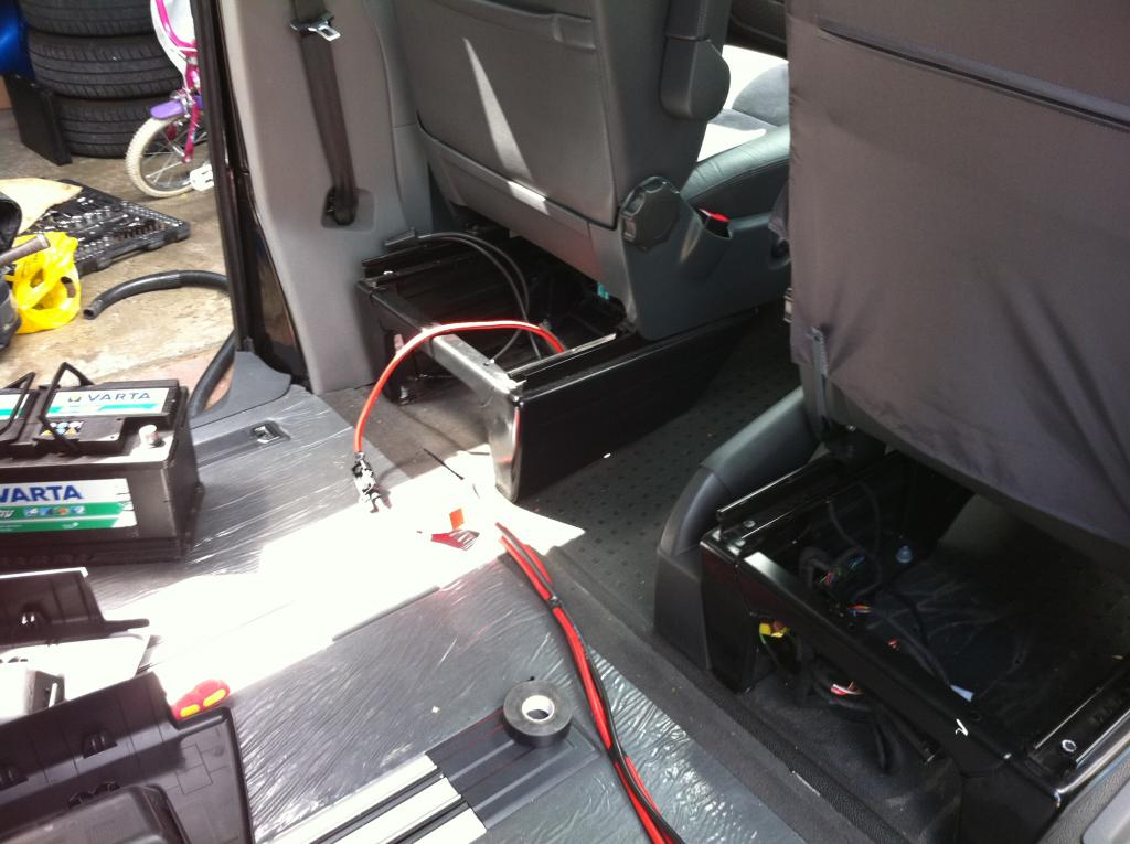 Leisure Battery How I Did It Vw T4 Forum Vw T5 Forum