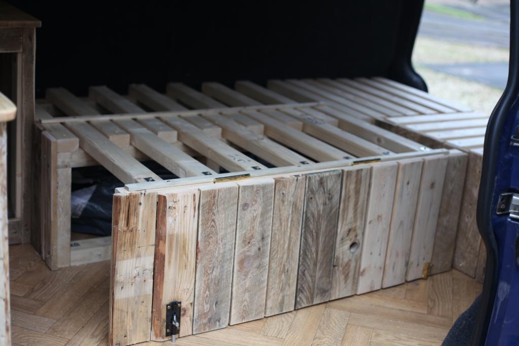 Wooden Interior Build