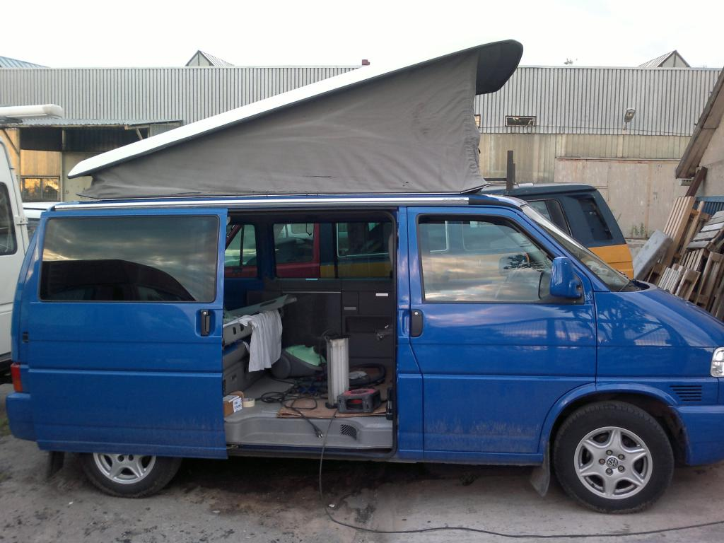 2002 Blue T4 Multivan Lhd Vw Forum T5 Tow Bar Wiring And Instaled Almost Notice The Brandrup Rail For Fiamma
