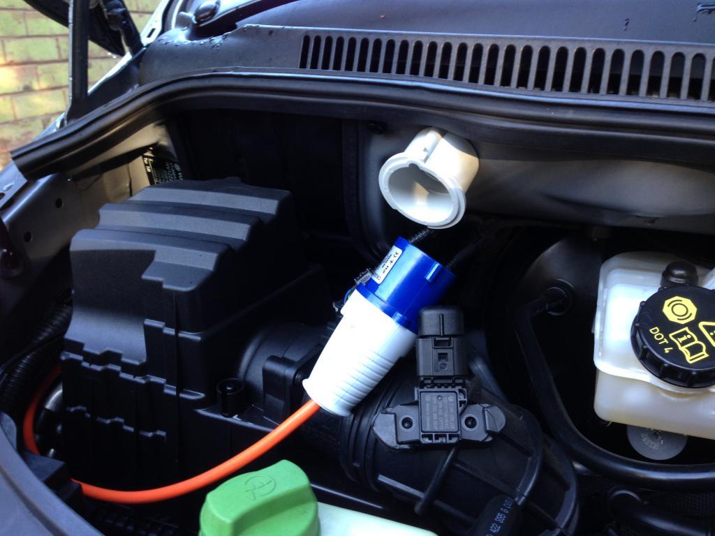 Hiding Mains Hook Up - VW T4 Forum - VW T5 Forum