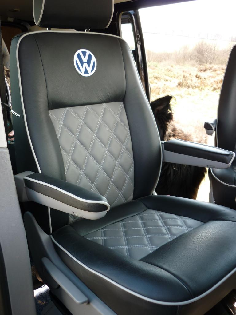 New Leather Seat Covers Vw T4 Forum Vw T5 Forum