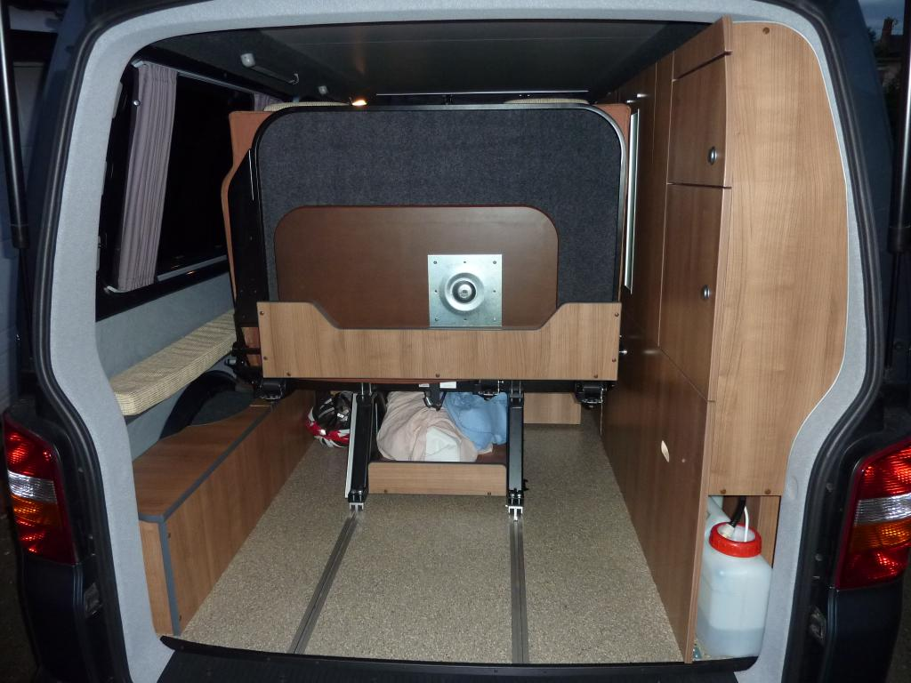 How Much Space Behind Rock And Roll Bed Vw T4 Forum