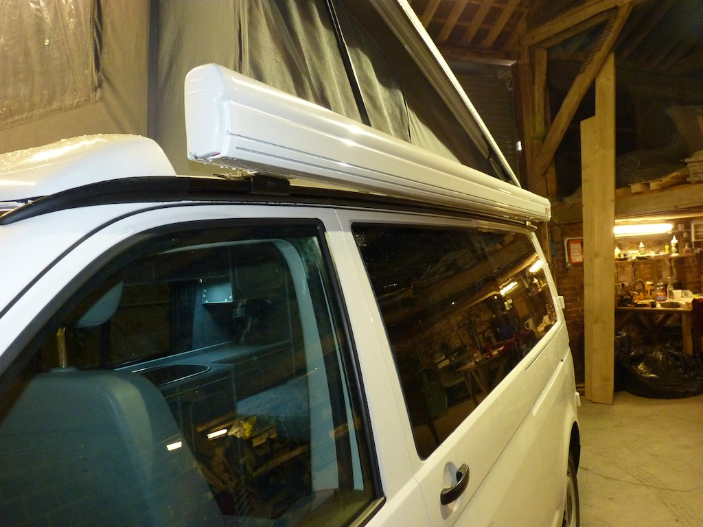Fiamma Awning On T5 With Pop Top Vw T4 Forum Vw T5 Forum
