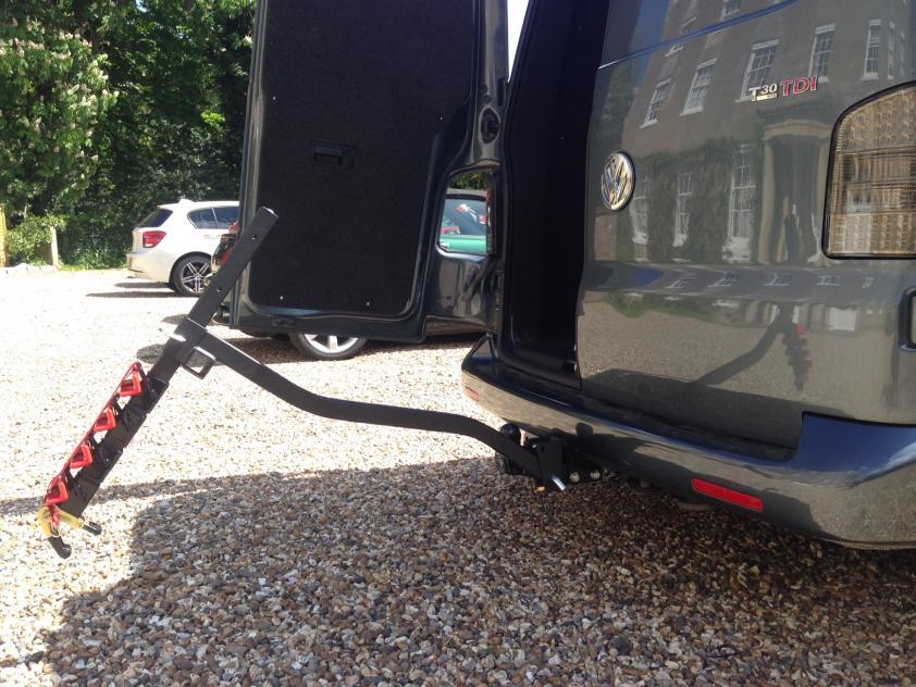 T5 Tow Bar Bike Racks And Barn Doors A Definitive Answer Vw