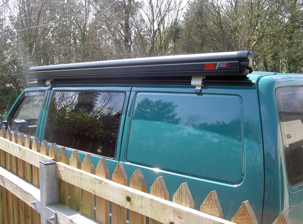 Fiamma awning fitting to T4 with Reimo rail - VW T4 Forum ...