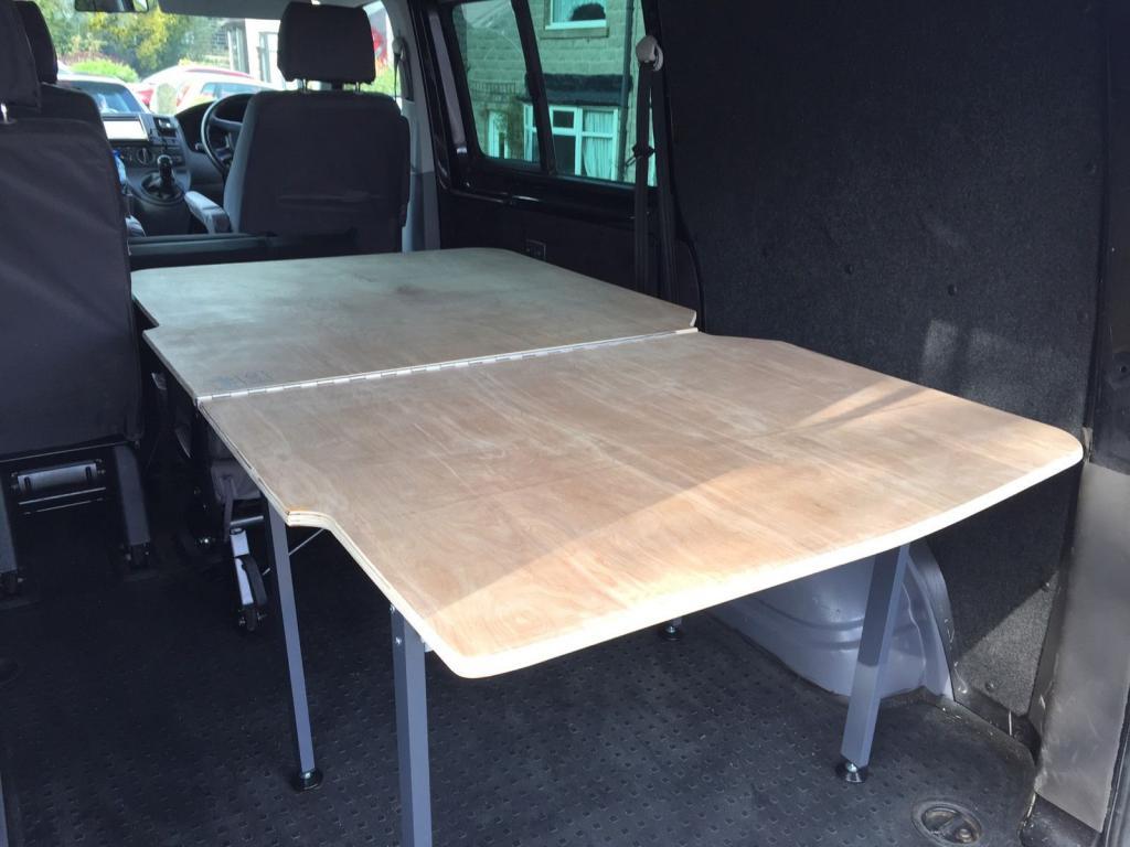 Folding Bed System For T5 Kombi Vw T4 Forum Vw T5 Forum