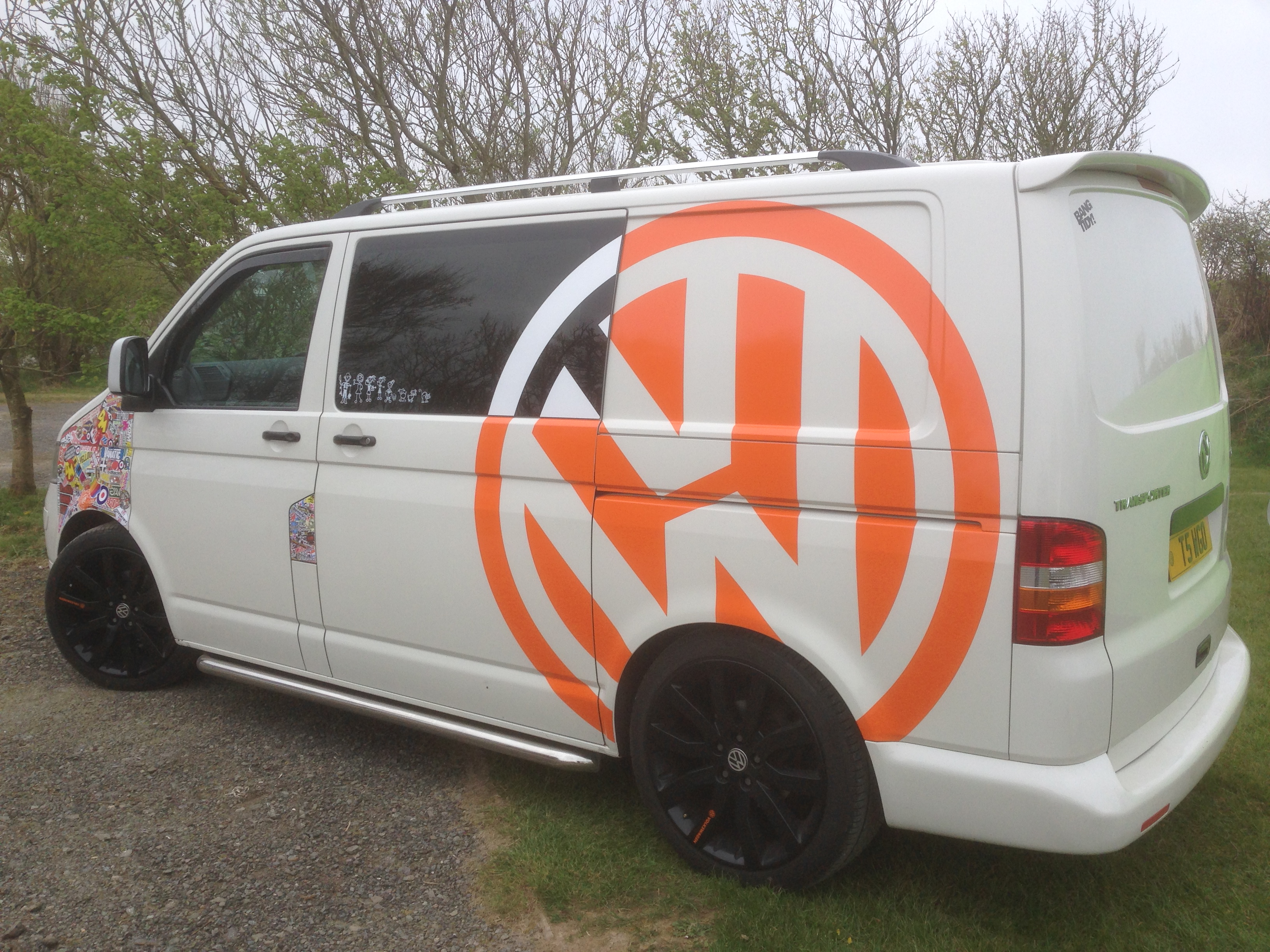 But all i can say is if you ever want any graphics for your van give vince a shout www sk5vansigns co uk or search for cocoa on here
