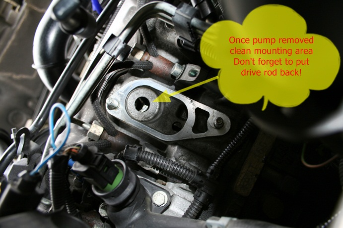 HOW TO - Replace Vacuum Pump on the 2 5 TDI - VW T4 Forum - VW T5 Forum