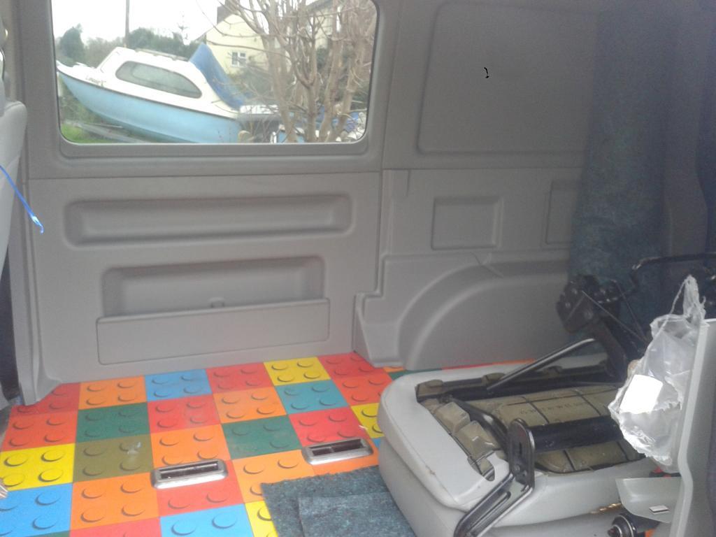 trimtec charity bus conversion - VW T4 Forum - VW T5 Forum