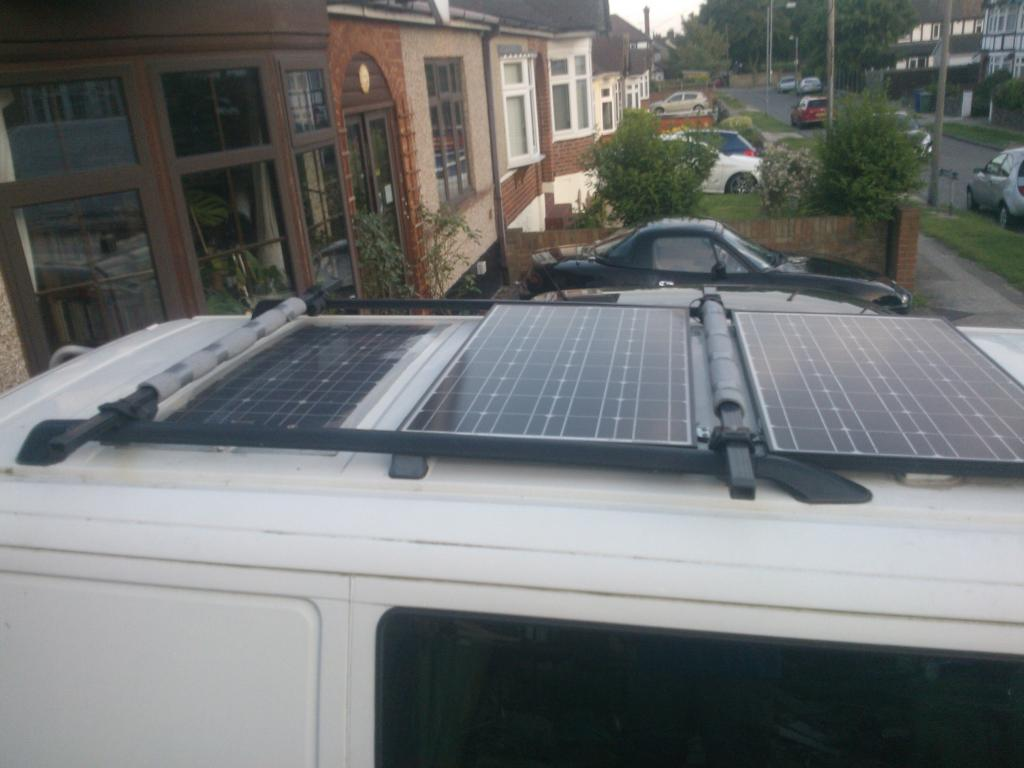 Solar Panels And Shade Vw T4 Forum Vw T5 Forum